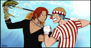 One piece Buggy  Shanks by Yochiru-29