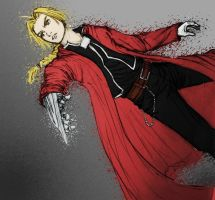 Ed Elric by Darizard