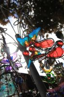 Butterfly Wind-chime 2. by abbychunga