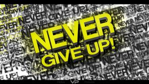 Never Give Up by Villdius