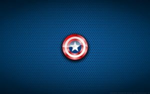 Wallpaper - Captain America 'Shield' Logo by Kalangozilla