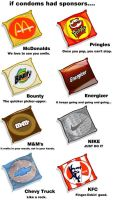 If condoms had sponsers by 691