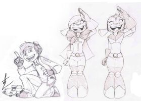Concept Sketches- Kidworks by Inked-Alpha