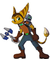 Ratchet and Clank by RitoSternbeck
