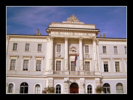 The town-hall in Piran by garbo009