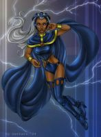 X-Men: Storm by daekazu