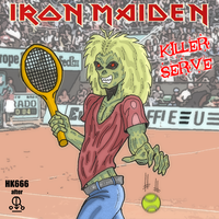 Iron Maiden spoof by HK666
