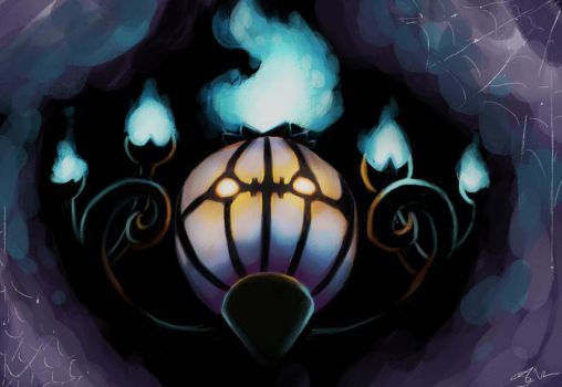 Chandelure by Twilight--Hope