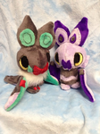 Noibat and Noivern by Glacideas