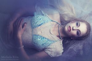 Lady in the Water I by Michela-Riva