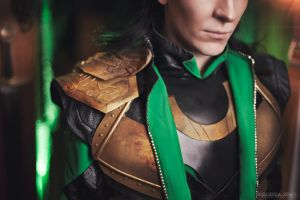 loki : kneel before me! by TheIdeaFix