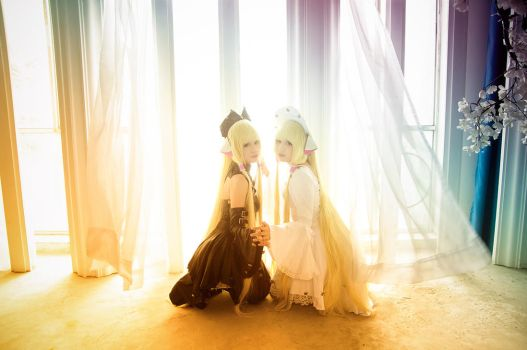 Chobits - the sisters by ikabii