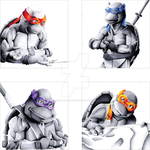 TMNT 1990s Film by KekeIllustrations
