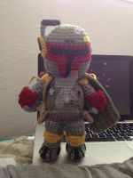 12 inch tall Boba Fett by telshira