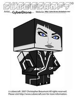Cubeecraft - Quorra by CyberDrone