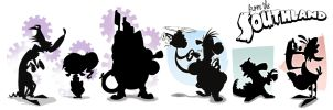 From the Southland Silhouette Lineup by Baron-Von-Jello