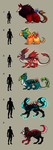 Creature Adopts (Points/Paypal) CLOSED by KuAdopts