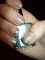 Sparkly Nails by ffishy21