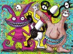 AAAHH Real Monsters Painting by Dr-Twistid