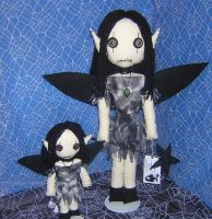 Fairy Rag dolls by Zosomoto