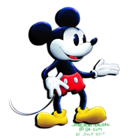 Mickey Mouse by Sandette