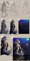 Coloring Process Tutorial by Scorched-FoxFire