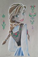 Anna-Frozen by justkates
