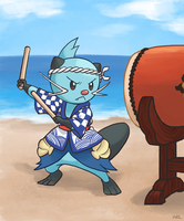 Taiko Dewott by Thelovewalker