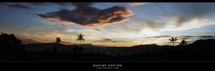 puncak sunrise by l32