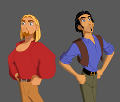 Tulio and Miguel by JosiahReeves