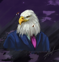 Commission: Filthy Eagle / Aguila Cochambrosa by FJLink