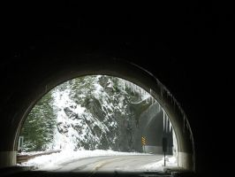 Tunnel Icicles at HR by VoyagerHawk87