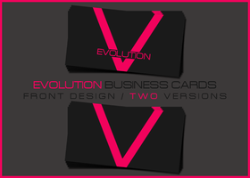 Evolution Business Card by sladeDESIGNS