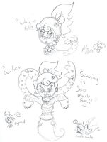 LanaBGhost why kill when scaring is so much fun by Kittychan2005