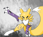 renamon by scarlet-colored-moon
