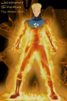 Johnny Storm: Human Torch by TyParsec