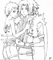 Allen and Lenalee - D.Gray-Man by Gynos