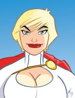 Powergirl by Granamir30