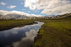 Iceland Mountains 1 by mystcb