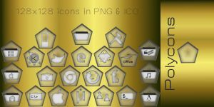 Polycons - Icons for the Dock by rvc-2011