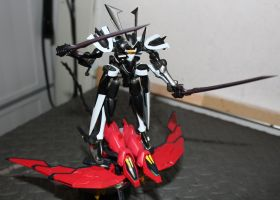 Susanowo and Epyon charge into battles by ProfessM
