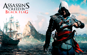 Edward Kenway AC IV Black Flag Wallpaper by BriellaLove
