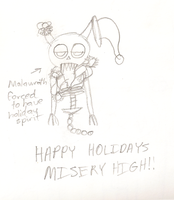 Misery High Christmas by hermiethefrog