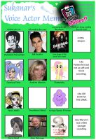Monster High Voice Actor Meme by pixiesera