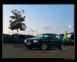 VW Golf IV front view by H8me-CZ