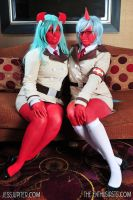 scanty and kneesocks I by resubee