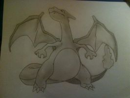#006 Charizard by Rawwr-Art