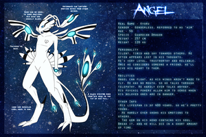 Angel reference sheet by pandalecko
