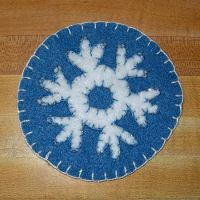 January Magnet - Snowflake by UrsulaPatch