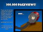 200.000 pageviews by Lerra22